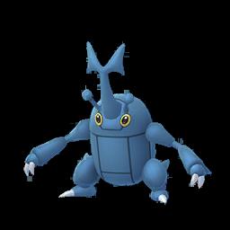 Modèle de Scarhino - Pokémon GO