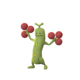 Sprite femelle chromatique de Simularbre - Pokémon GO
