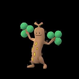 Sprite femelle de Simularbre - Pokémon GO