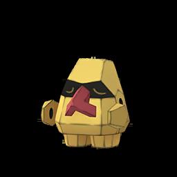 Modèle shiny de Tarinor - Pokémon GO