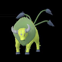 Sprite mâle chromatique de Tauros - Pokémon GO