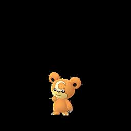 Sprite  de Teddiursa - Pokémon GO