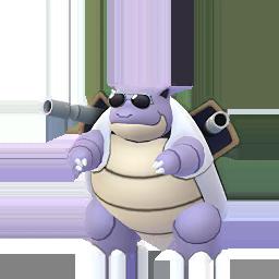Imagerie de Tortank (lunettes) - Pokédex Pokémon GO
