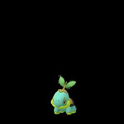 Modèle shiny de Tortipouss - Pokémon GO