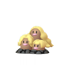 Sprite  de Triopikeur - Pokémon GO
