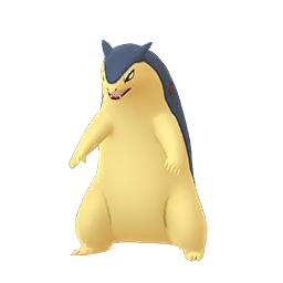 Typhlosion forme normale