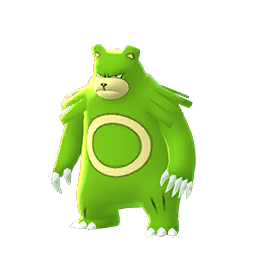 Modèle shiny de Ursaring - Pokémon GO