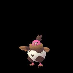 Sprite femelle chromatique de Vostourno - Pokémon GO