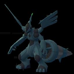 Sprite chromatique de Zekrom - Pokémon GO
