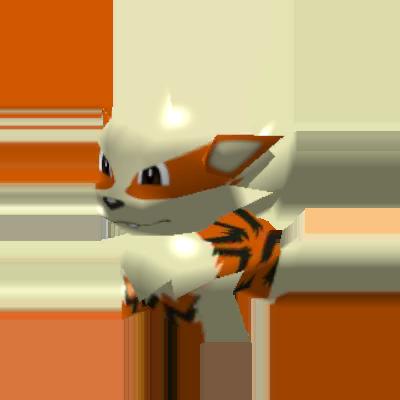 Sprite de Arcanin - Pokémon Rumble Rush