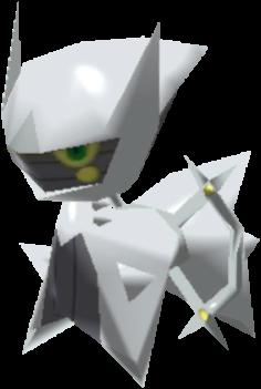 Fiche Pokédex de Arceus (Acier) Pokémon Rumble Rush
