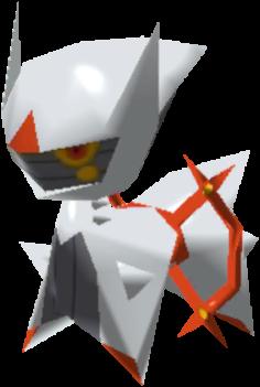Fiche Pokédex de Arceus (Combat) Pokémon Rumble Rush