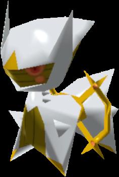 Fiche Pokédex de Arceus (Électrik) Pokémon Rumble Rush