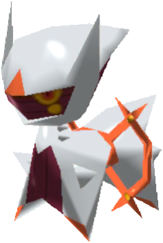 Fiche Pokédex de Arceus (Feu) Pokémon Rumble Rush