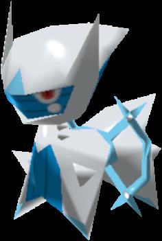Fiche Pokédex de Arceus (Glace) Pokémon Rumble Rush