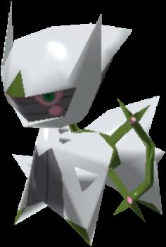 Fiche Pokédex de Arceus (Insecte) Pokémon Rumble Rush