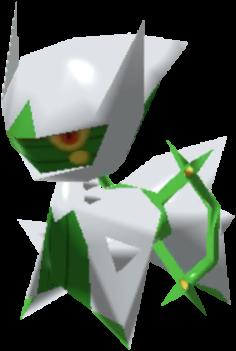 Fiche Pokédex de Arceus (Plante) Pokémon Rumble Rush
