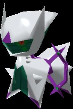 Fiche Pokédex de Arceus (Poison) Pokémon Rumble Rush