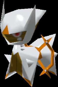 Fiche Pokédex de Arceus (Sol) Pokémon Rumble Rush