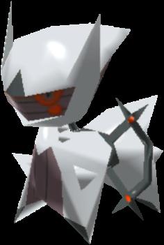 Fiche Pokédex de Arceus (Ténèbres) Pokémon Rumble Rush
