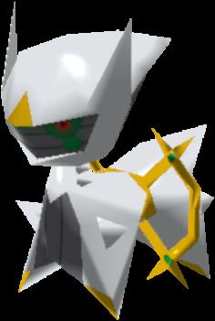Fiche Pokédex de Arceus Pokémon Rumble Rush