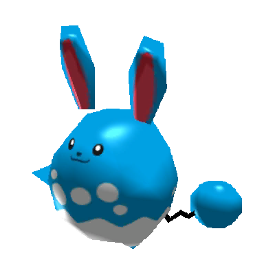 Sprite de Azumarill - Pokémon Rumble Rush