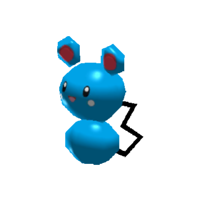 Sprite de Azurill - Pokémon Rumble Rush