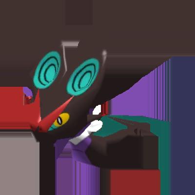 Fiche Pokédex de Bruyverne Pokémon Rumble Rush