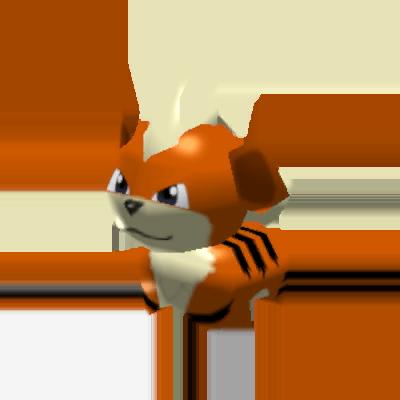 Sprite de Caninos - Pokémon Rumble Rush