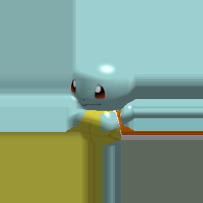 Sprite de Carapuce - Pokémon Rumble Rush