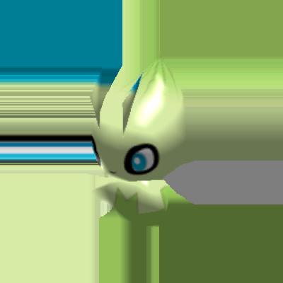 Sprite de Celebi - Pokémon Rumble Rush