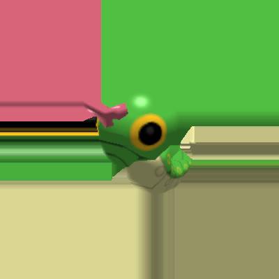 Sprite de Chenipan - Pokémon Rumble Rush