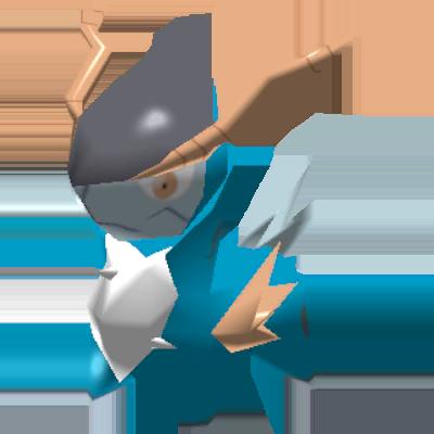 Fiche Pokédex de Cobaltium Pokémon Rumble Rush