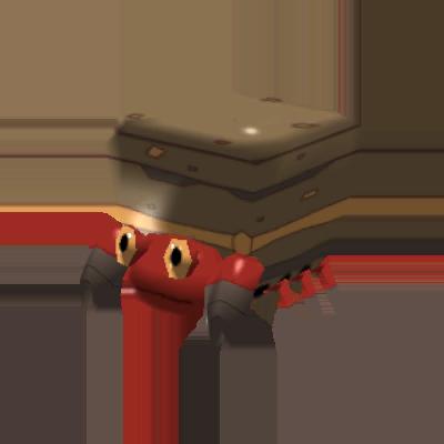 Fiche Pokédex de Crabaraque Pokémon Rumble Rush