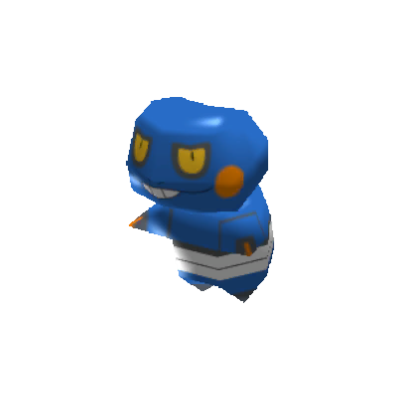 Sprite de Cradopaud - Pokémon Rumble Rush
