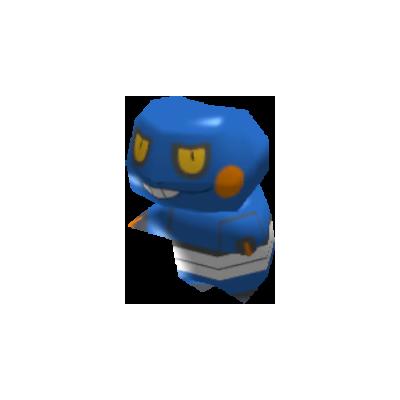 Fiche Pokédex de Cradopaud Pokémon Rumble Rush