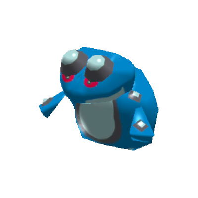 Sprite de Crapustule - Pokémon Rumble Rush