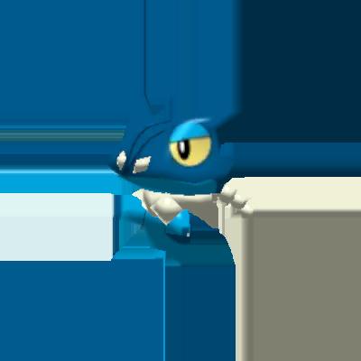 Fiche Pokédex de Croâporal Pokémon Rumble Rush