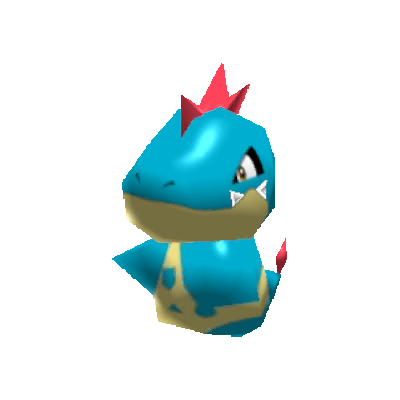 Sprite de Crocrodil - Pokémon Rumble Rush