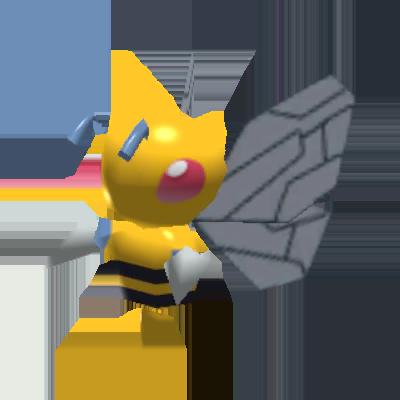 Sprite de Dardargnan - Pokémon Rumble Rush
