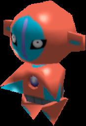Sprite de Deoxys - Pokémon Rumble Rush