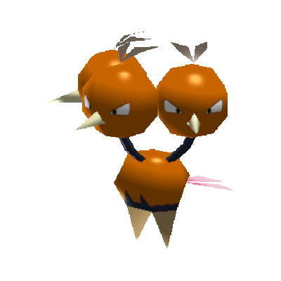 Sprite de Dodrio - Pokémon Rumble Rush