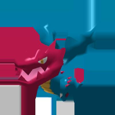Sprite de Drakkarmin - Pokémon Rumble Rush