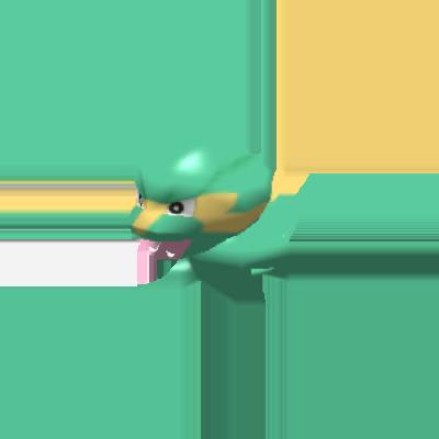 Fiche Pokédex de Dynavolt Pokémon Rumble Rush
