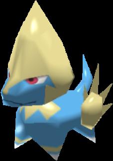 Fiche Pokédex de Élecsprint Pokémon Rumble Rush