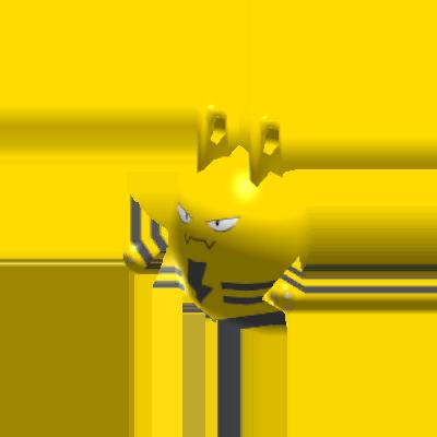 Sprite de Élekid - Pokémon Rumble Rush
