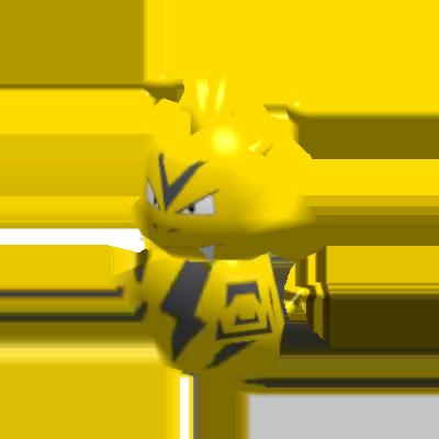 Sprite de Élektek - Pokémon Rumble Rush
