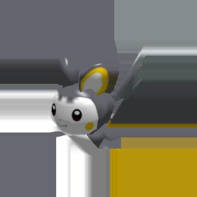 Fiche Pokédex de Emolga Pokémon Rumble Rush