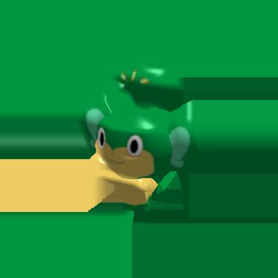 Sprite de Feuillajou - Pokémon Rumble Rush