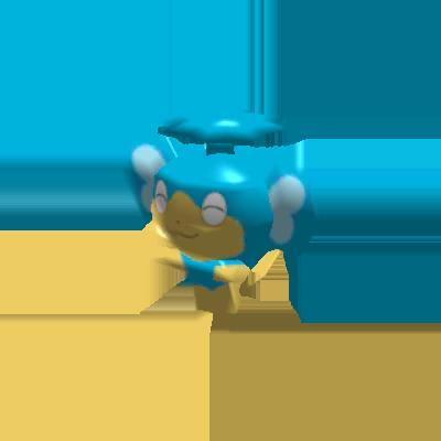 Sprite de Flotajou - Pokémon Rumble Rush